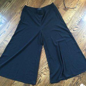 Willow & Thread Black Flowy Dress Pants
